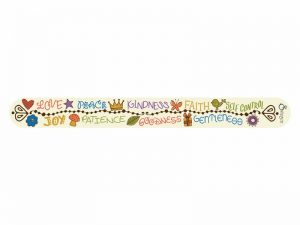 NAIL FILE FRUIT OF THE SPIRIT PK72