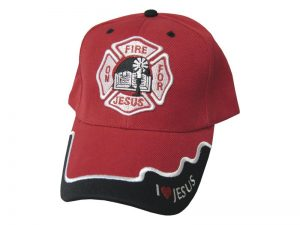 CAP RED FIRE FOR JESUS
