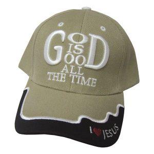 CAP KHAKI GOD IS GOOD