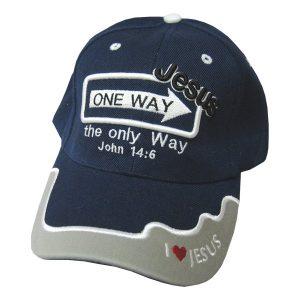 CAP NAVY ONE WAY JESUS