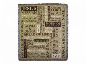 TAPESTRY NAMES OF JESUS 52X60