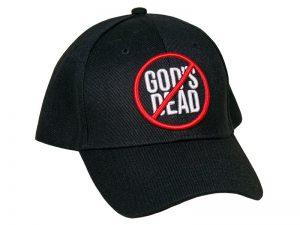 CAP BLACK GOD'S NOT DEAD