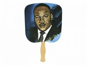 HAND FAN MARTIN LUTHER KING PK50