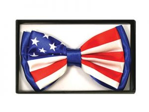 BOW TIE AMERICAN FLAG