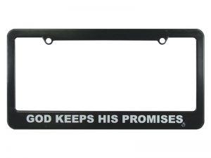 TAG FRAME GOD KEEPS HIS PROMISES