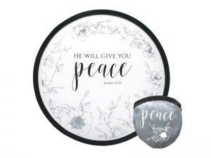 """FOLDABLE HAND FAN """"PEACE"""" – PK6"""