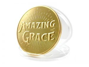 "KEEPSAKE COIN ""AMAZING GRACE"""