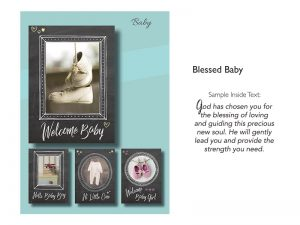 BOXED GREETING CARDS BABY BLESSED