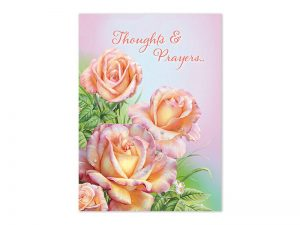 BOXED GREETING CARDS ENCOURAGEMENT ROSES