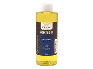 ANOINTING OIL UNSCENTED 4 OZ ALTAR SIZE