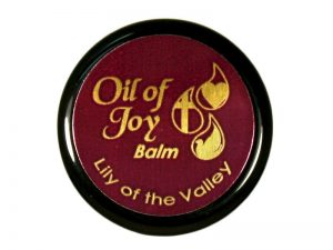 OIL OF JOY ANOINTING BALM LILY OF THE VALLEY 1/3 OZ