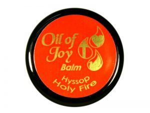 OIL OF JOY ANOINTING BALM HYSSOP – HOLY FIRE 1/3 OZ