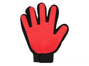 BLESS MY PAWS GROOMING GLOVE RED
