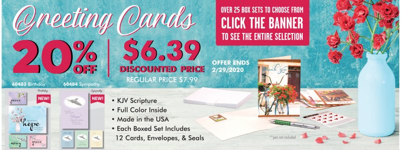 Swanson Christian Products Greeting Card